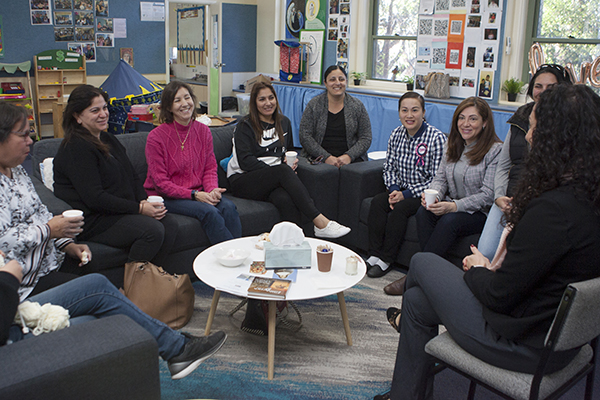 staff at family and faith centre